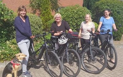 Aktiv ins Büro: mit dem E-Bike zur Arbeit