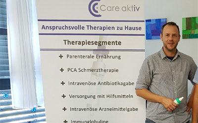 Stefan Leißner beim 13. Diabetestag im Klinikum Bayreuth
