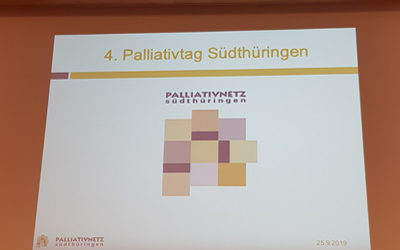 CC care aktiv beim 4. Palliativtag Südthüringen