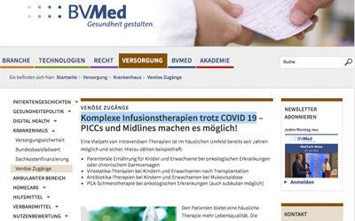 Lesetipp: Komplexe Infusionstherapien trotz COVID19